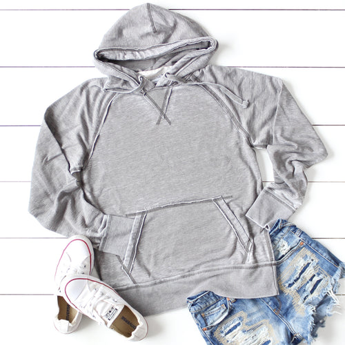 Distressed Blank Hoodies