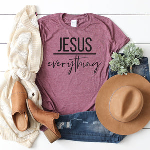 Jesus Over Everything-Plus Sizes