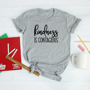 Kindness Is Contagious-Plus Sizes