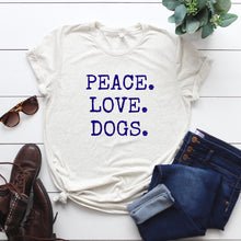 Peace. Love. Dogs.-Plus Sizes