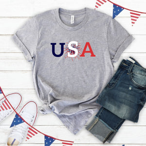 4th of July Graphic T_Shirt! USA
