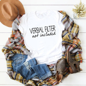 Verbal Filter Not Included-Plus Sizes