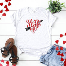 All You Need Is Love Heart With Arrow-Plus Sizes