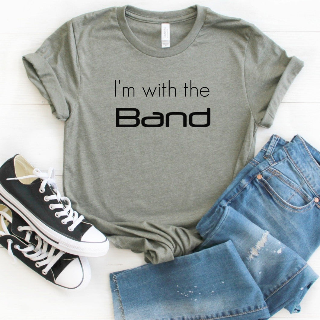 I'm With The Band-Plus Sizes