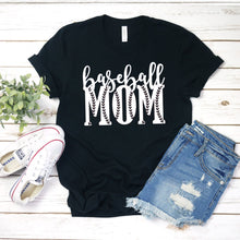 Baseball Mom-Plus Sizes