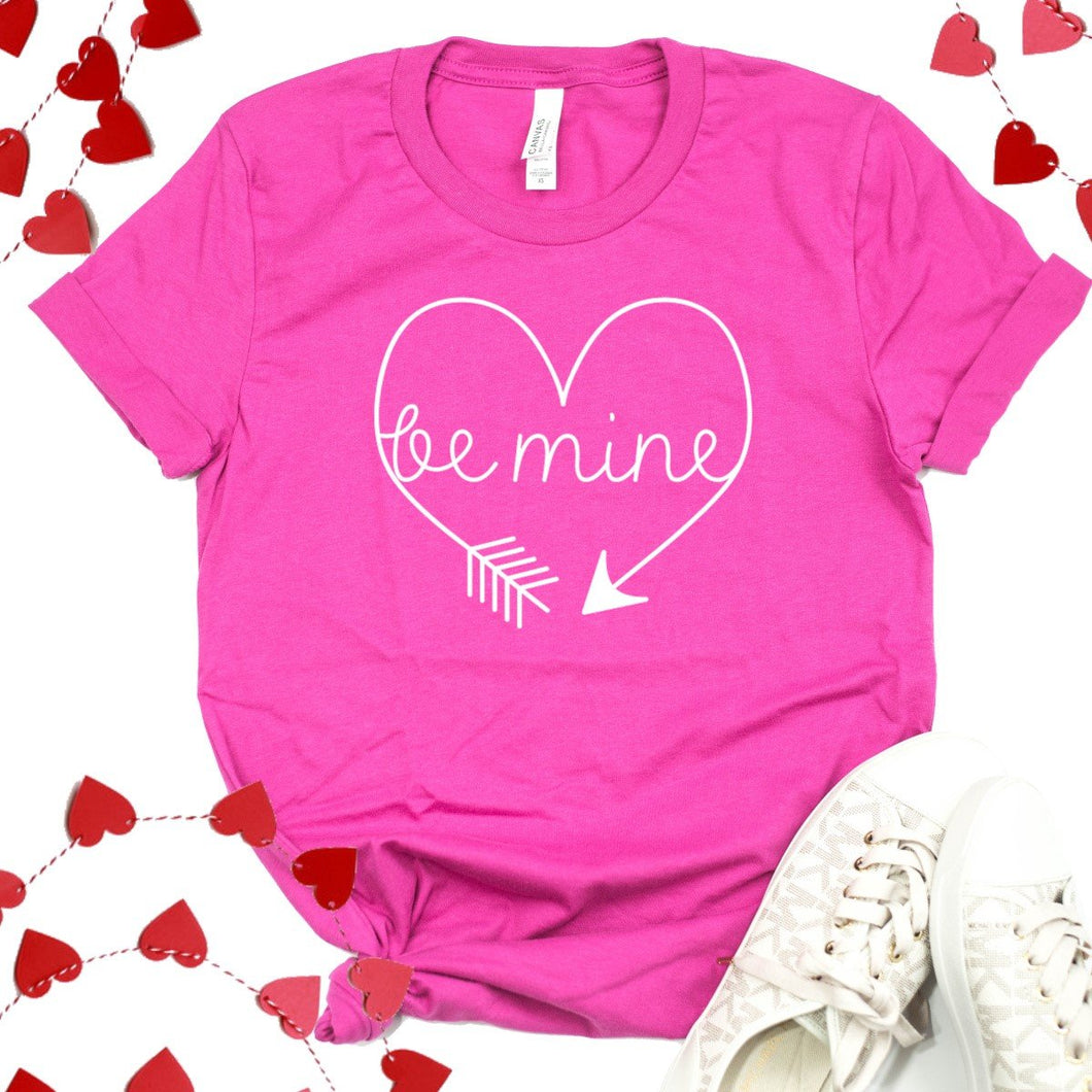 Be Mine Arrow Heart-Plus Sizes