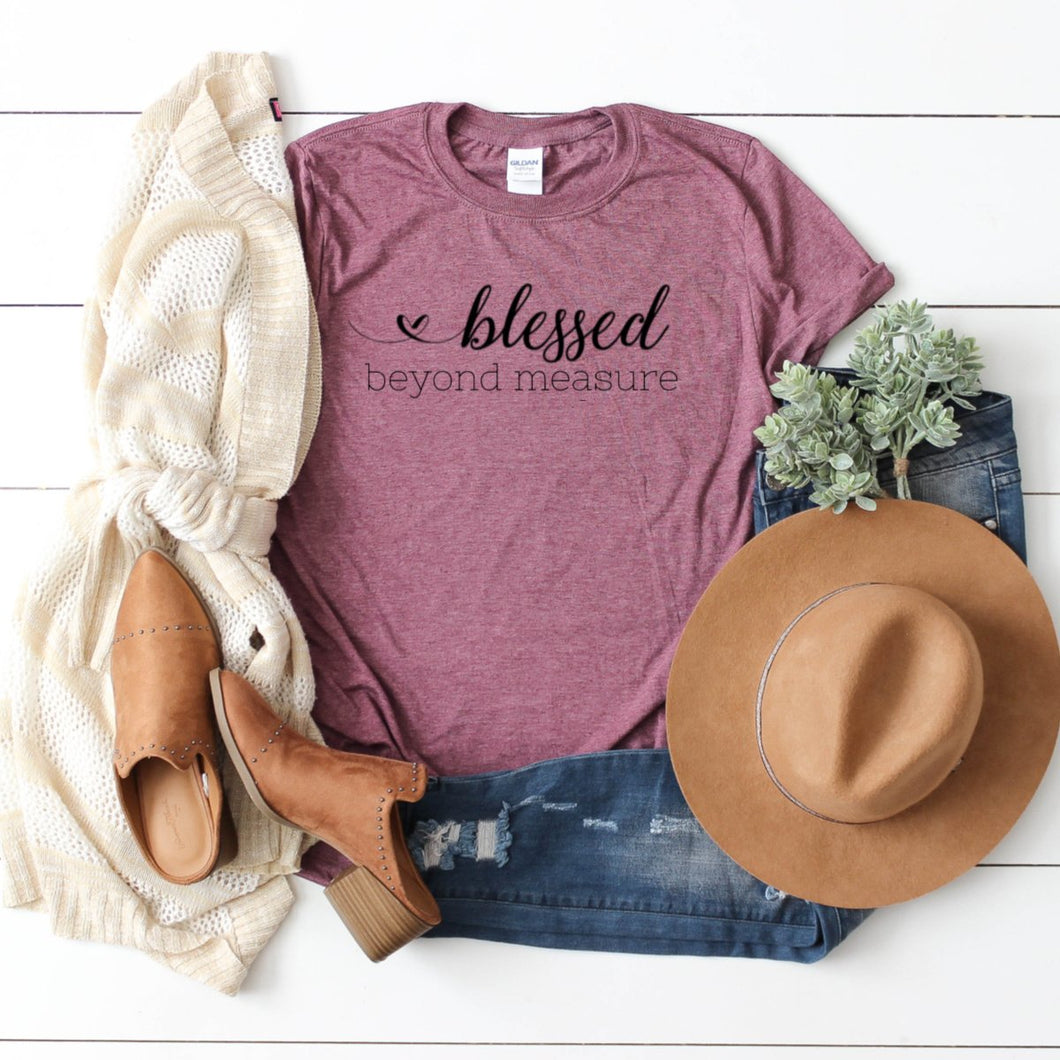 Blessed Beyond Measure-Plus Sizes
