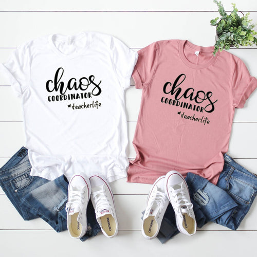 Chaos Coordinator #TeacherLife-Plus Sizes