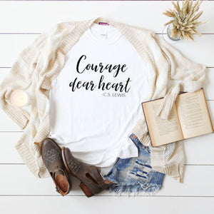 Courage Dear Heart-Plus Sizes