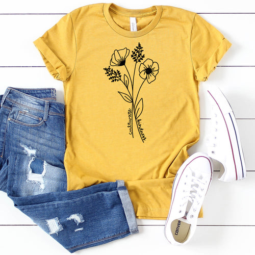Cultivate Kindness Wildflowers-Plus Sizes