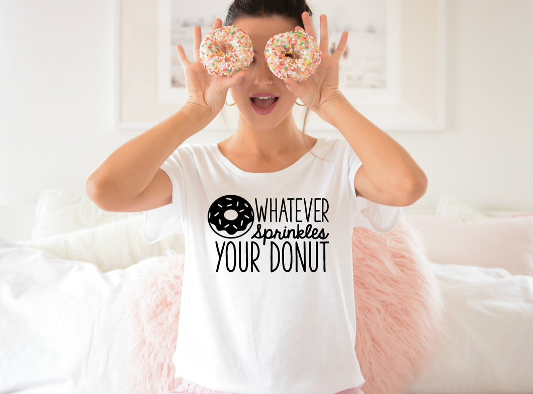 Whatever Sprinkles Your Donut-Plus Size