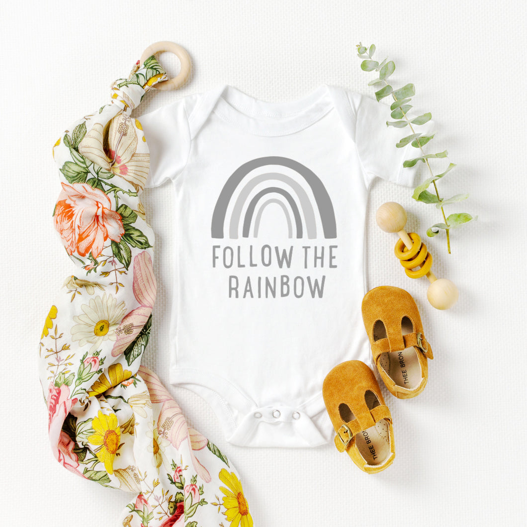 Follow the Rainbow Onesie