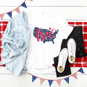 4th of July Graphic T-Shirt! Free!