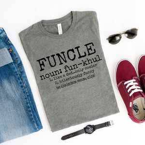 Funcle-Plus Sizes