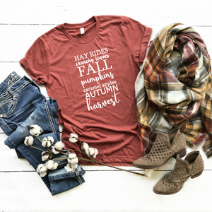 Hay Rides, Crunchy Leaves, Fall Pumpkins...-Plus Sizes