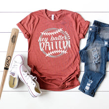 Hey Batter Batter White And Grey-Plus Sizes