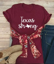 Texas Strong, Texas Tees, Graphic Tees, Hurricane Harvey