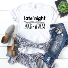 Late Night Book Worm