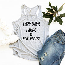 Lazy Day Lakes & Flip Flops