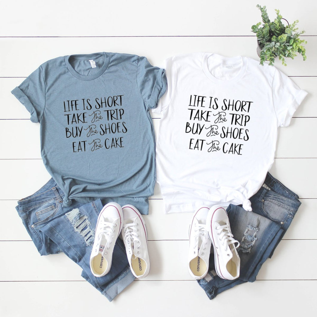Life Is Short-Plus Sizes