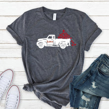 White Love Truck-Plus Sizes