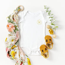 Gold Mini Magnolia Onesie
