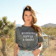 Mountains Coffee & Cabins-Plus Sizes