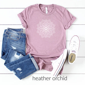 Flower Mandala-Plus Sizes