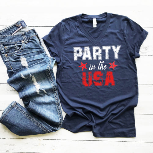 Party in the USA- V-neck