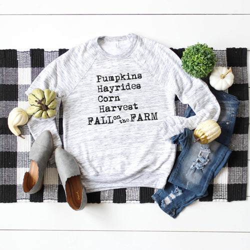 Fall on the Farm Crewneck Sweatshirt