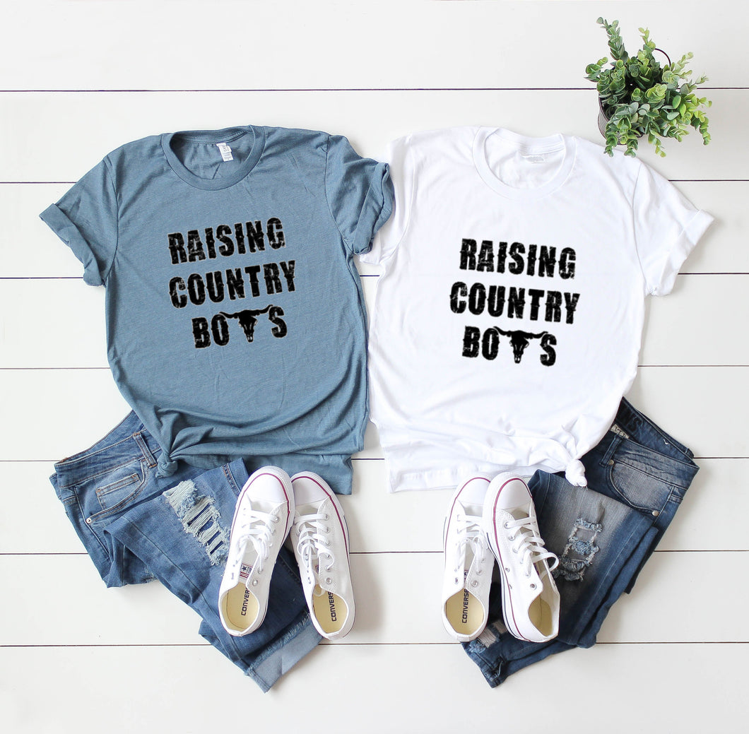 Raising Country Boys-Plus Sizes