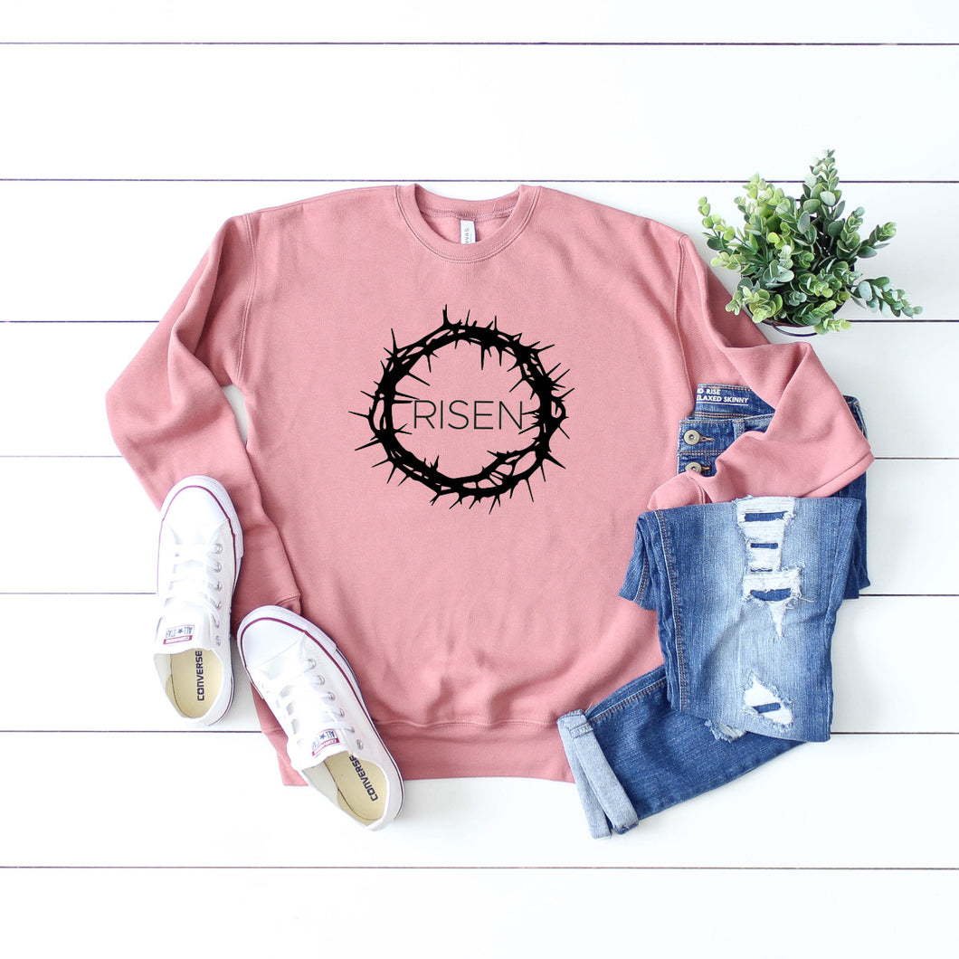 Risen Crown of Thorns Sweatshirt