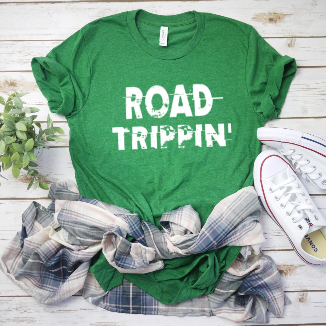 Road Trippin' (White)-Plus Sizes