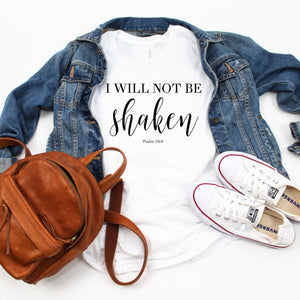 I Will Not Be Shaken-Plus Sizes
