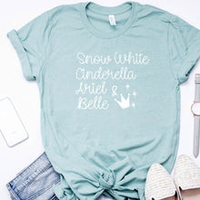 Snow White Cinderella Ariel & Belle-Plus Sizes