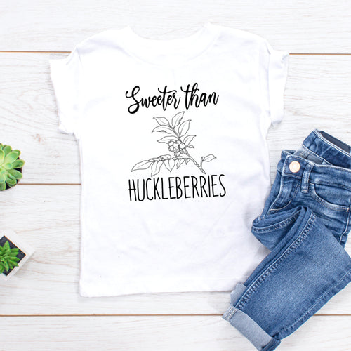 Sweeter than Huckleberries (black)- Youth