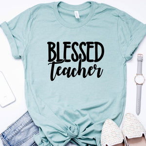 Blessed Teacher-Plus Sizes