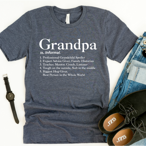 Definition Of Grandpa-Plus Sizes