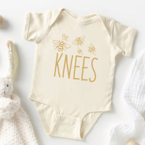 Gold The Bees Knees Onesie