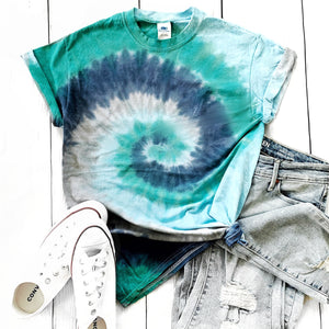 Fun Tie-Dye Tee-Earth