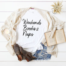 Weekends Books & Naps-Plus sizes