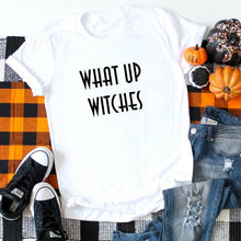 What Up Witches (Black)-Plus Sizes