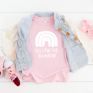 Follow the Rainbow (white)- Youth