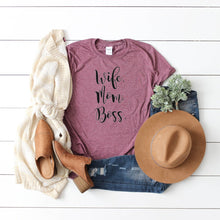 Wife Mom Boss-Plus Sizes