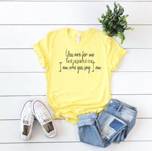You Are For Me Not Against Me I Am Who You Say I Am-Plus Sizes