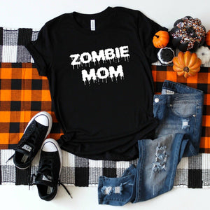 Zombie Mom (White)-Plus Sizes