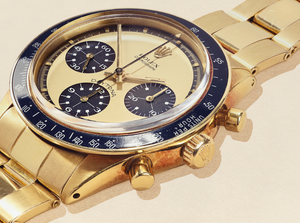 "Rare £1 Million 18k Yellow Gold Rolex ""Paul Newman"" Daytona"