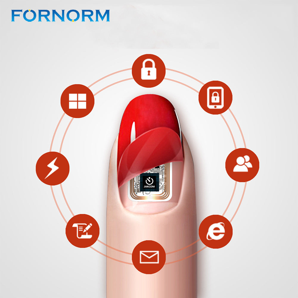 Fornorm Wearable Nail Stickers Simulate IC Card N2L/N2M/N2F NFC ...