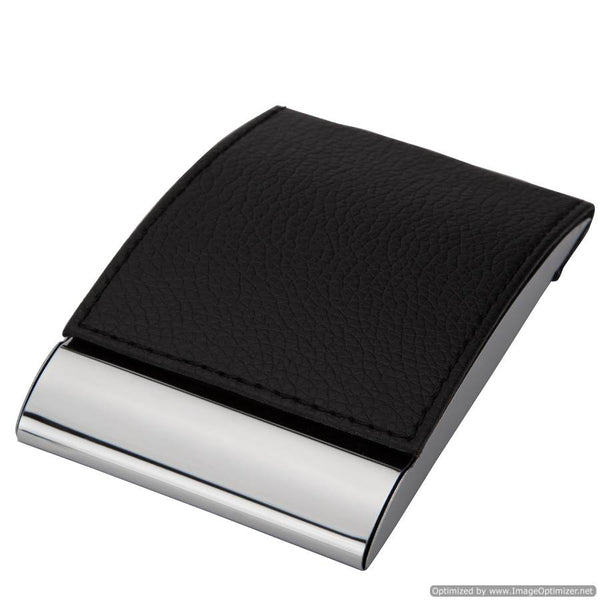 BLACK VISITING CARD HOLDER (VERTICAL)