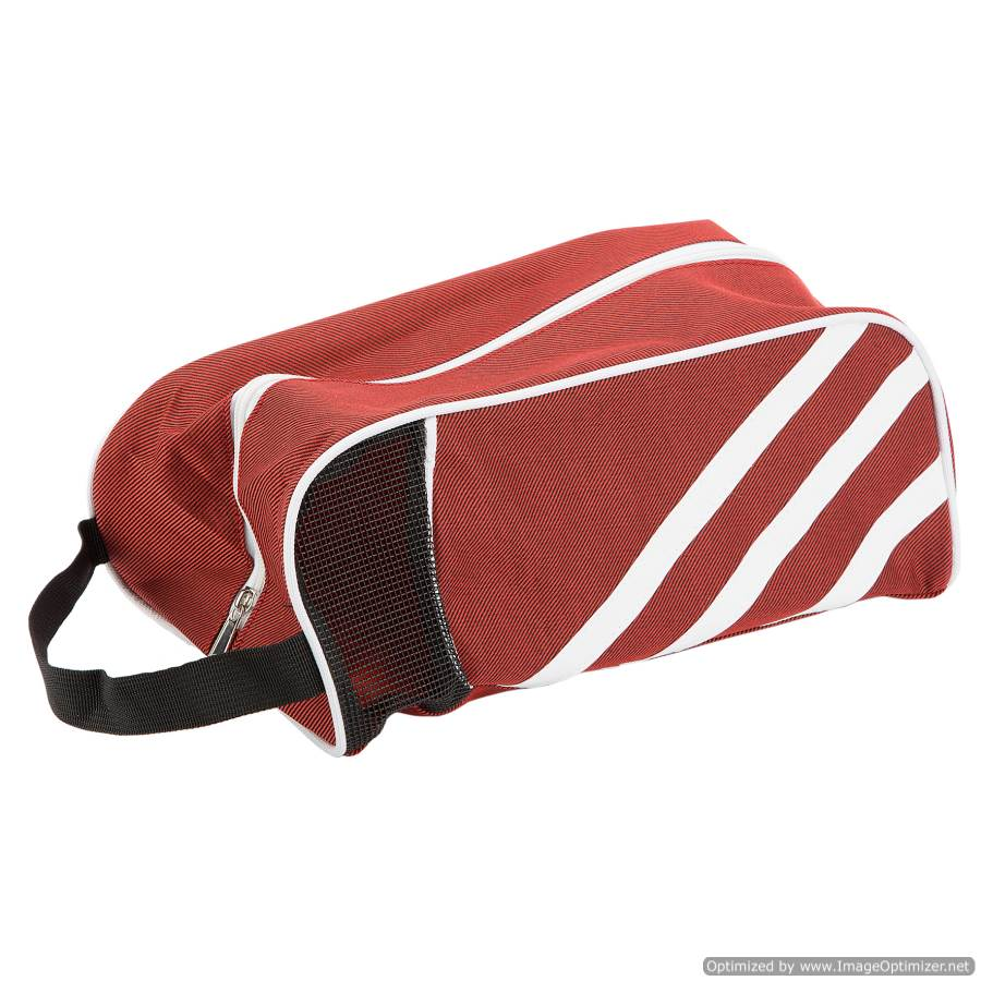 TRAVEL/SPORT SHOE BAG - RED